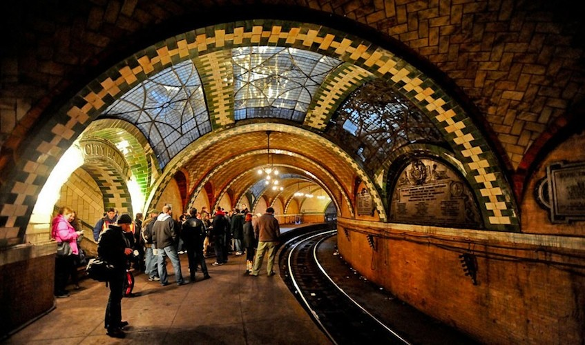 Abandoned Subway Station in New York City - an Underground Art ...