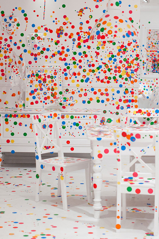 installation by Kusama 5