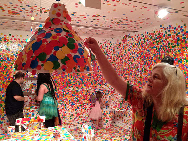 installation by Kusama 7