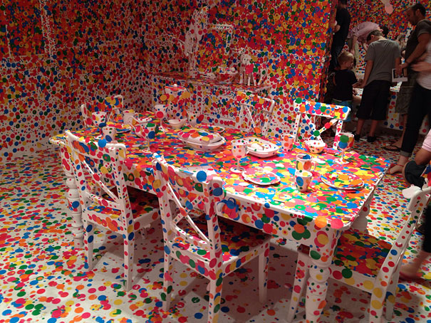 installation by Kusama 8