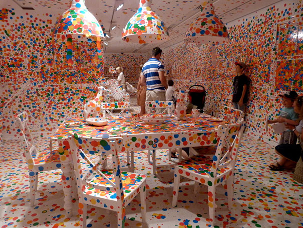 installation by Kusama 9