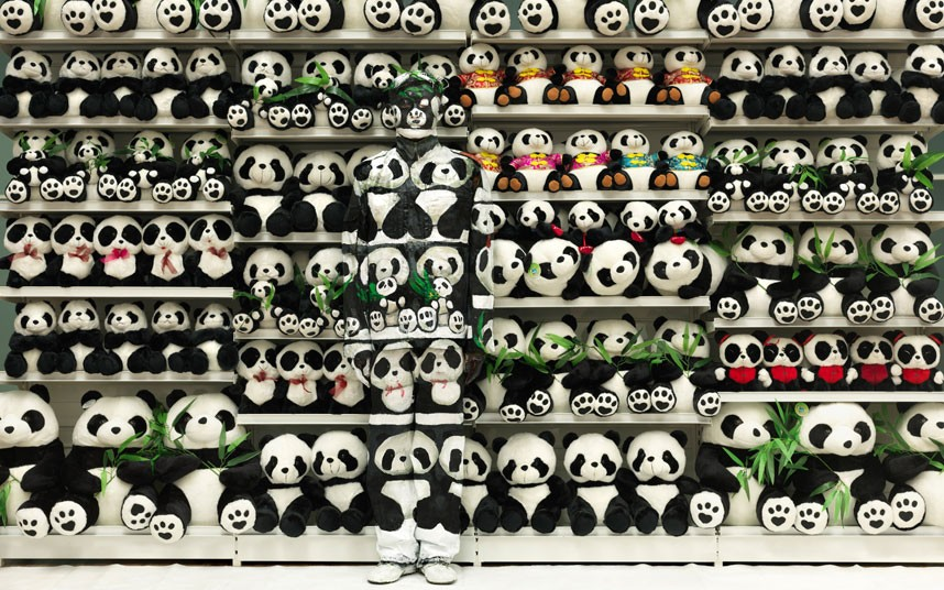 Liu Bolin artwork4