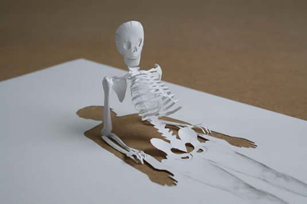 Peter Callesen Paper Sculptures