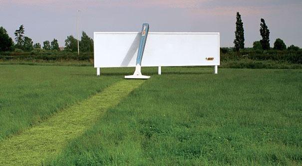 6. Bic Razor: Billboard