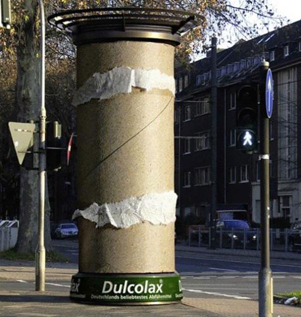 19. Dulcolax: Toilet paper