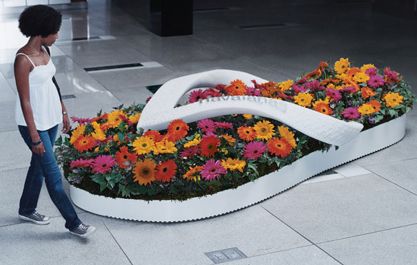 21. Havaianas: Flower Beds