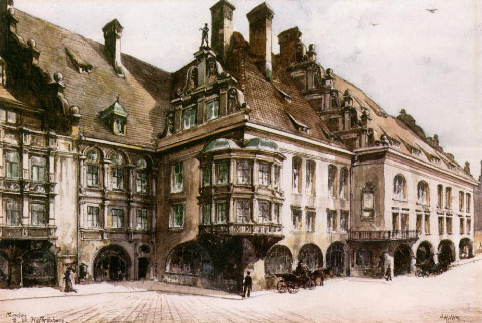 Hitler S Drawings And Paintings