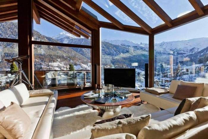 The Chalet Zermatt Peak in Switzerland