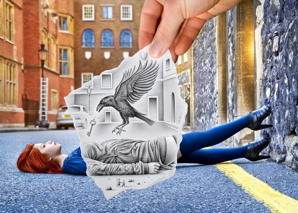 Titula la novela a partir de la imagen - Página 2 Ben-heine-pencil-vs-camera-57-art-imagination-vs-reality-drawing-vs-photography-20111