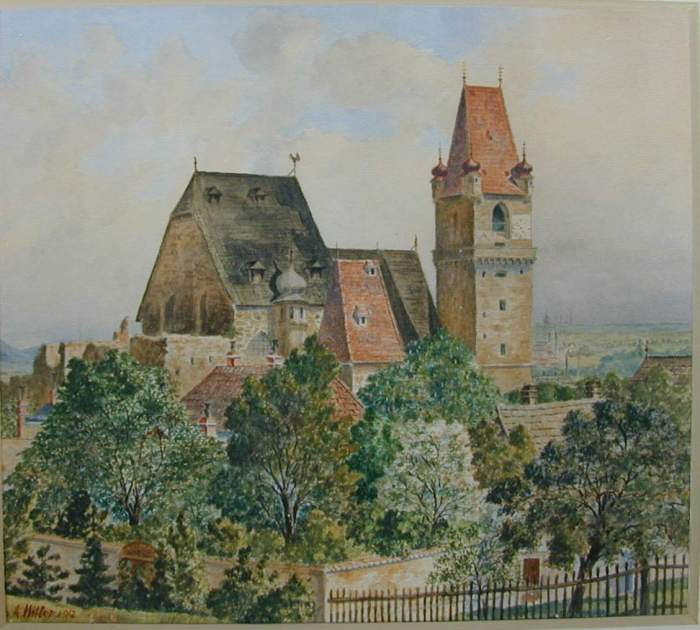 Perchtoldsdorg-Castle-and-Church