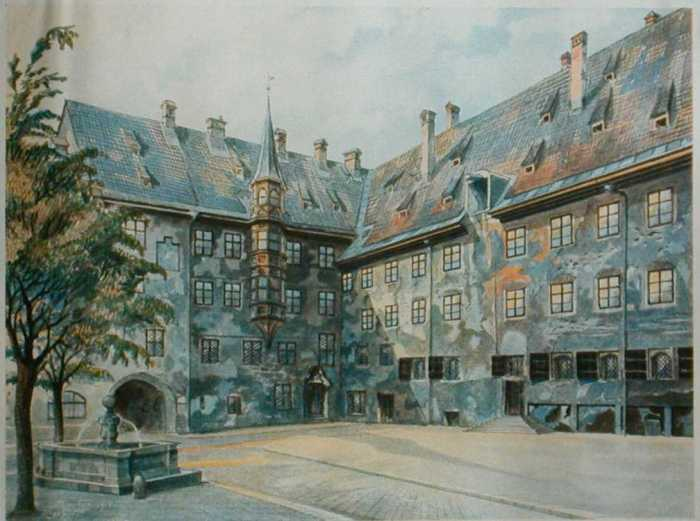 Paintings of Adolph Hitler