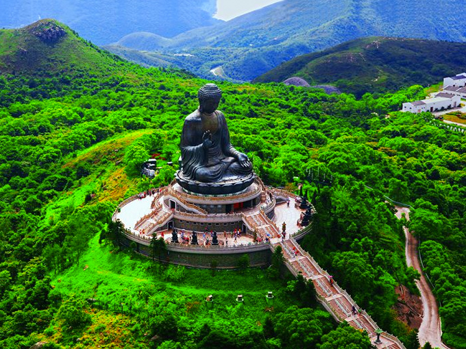 Tian Tan Buddha on Lantau Island, Hong Kong