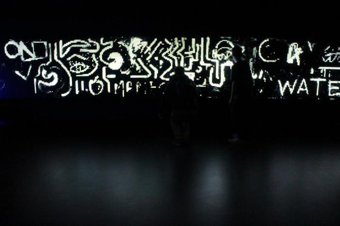 Amazing Water Light Graffiti by Antonin Fourneau