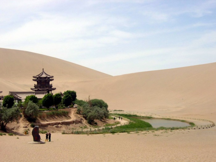 Gansu: Echoing Sand Mountain and Crescent Lake, Dunhuang