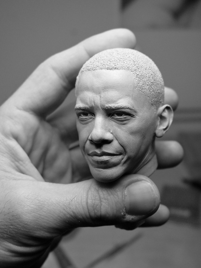 Incredibly Realistic Sculptures By Adam Beane CAT IN WATER