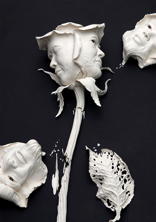 Creative Ceramic Sculptures By Johnson Tsang