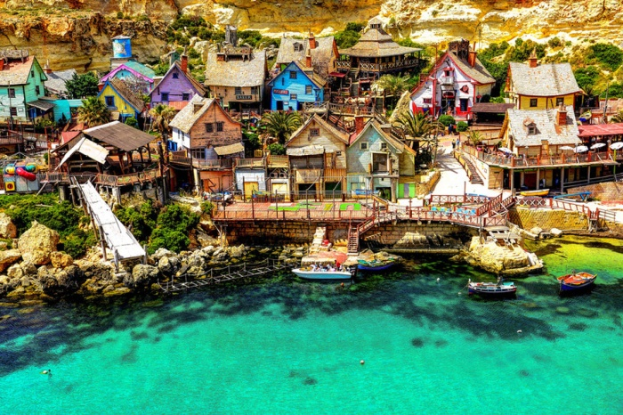 most beautiful villages around the world cat in water