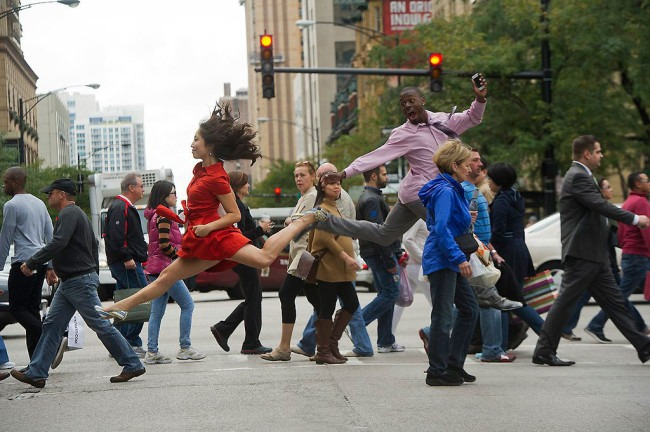 Crazy Ballet Dancing in Everyday Situations