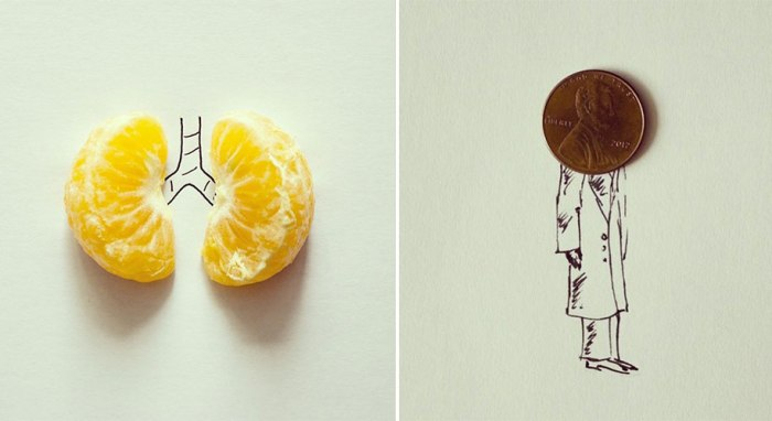 Javier Perez Turns Casual Objects Into Clever Illustrations