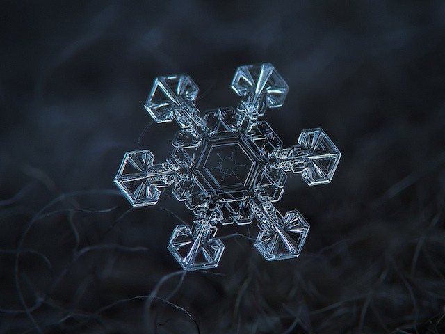 Spectacular Snowflakes From a Close-Up View