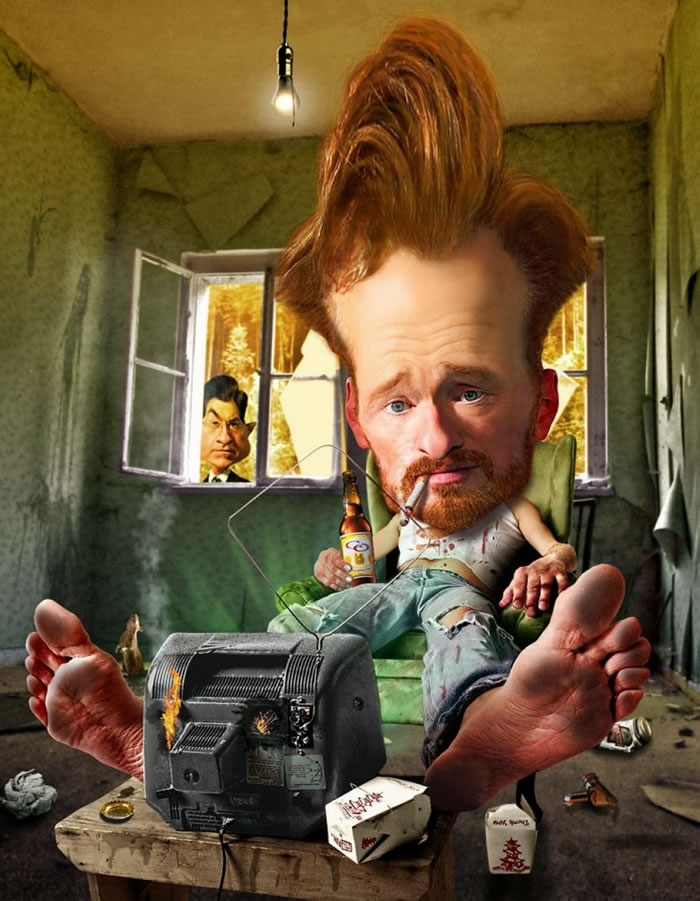 Ridiculous Photo-Manipulated Celebrity Caricatures
