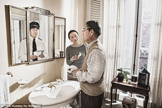 Alzheimer's Patients Who See Only Their Younger Selves in the Mirror