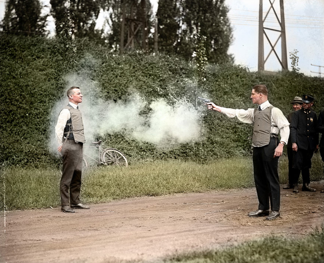 Black and White Historical Photos Restored in Colour
