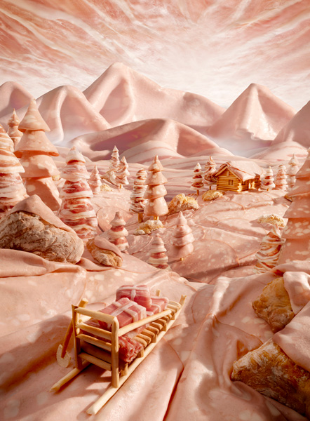 Delicious Food Landscapes by Carl Warner