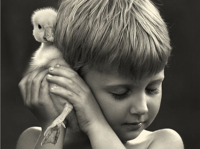 22Mother Takes Marvelous Photos of Her Children and Animals on Their Farm