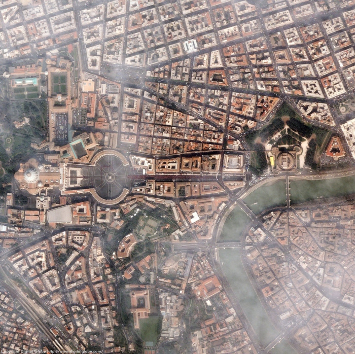 30 Amazing Cityscapes from A Bird's-Eye View