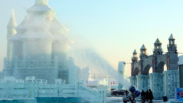 10Spectacular City Built Only of Ice and Snow in Chinese Festival