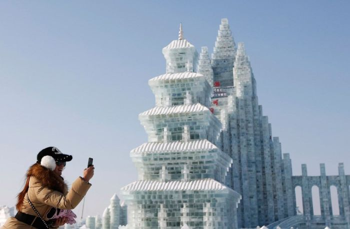 15Spectacular City Built Only of Ice and Snow in Chinese Festival